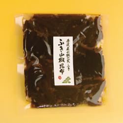 こちらはふき山椒昆布袋入の写真です。