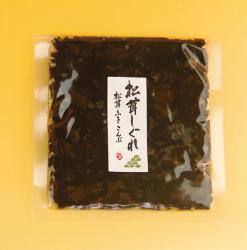 こちらは松茸しぐれの袋入り写真です。